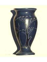 Африканская ваза из натурального камня высотой 16 см