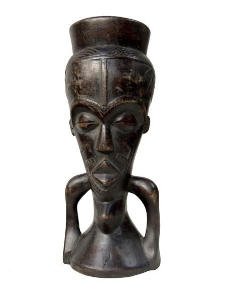 Ритуальный кубок силы народности Kuba (Конго)
