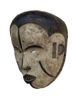 Очень красивая африканская маска Idoma ikpohi