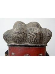 Церемониальная маска Baule Goli Kpwan [Кот-д'Ивуар]