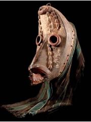 Ритуальная маска народности Dan