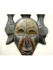 Африканская маска народности Ogoni (Нигерия) с птицами