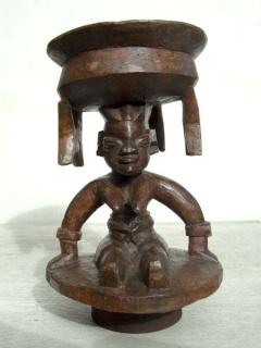 Чаша для гадания Yoruba Agere Ifa [Нигерия], 26 см