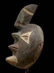 Африканская маска из дерева Afikpo. Купить с доставкой почтой России