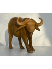 Фигурка африканского буйвола (дикого быка)