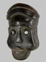 Церемониальная африканская маска Bamun Wum, Камерун