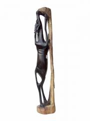 Фигурка черной газели из африканского дуба. Сделано в Кении
