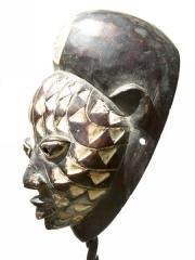 Ритуальная африканская маска из Нигерии Yoruba