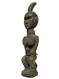 Yombe Fetish Power Horn [Конго], 62 см