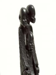 """Африканская фигурка из дерева """"Семья"""""""
