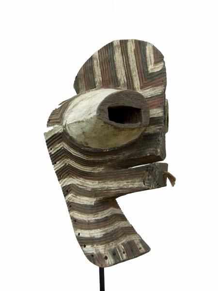 Африканская маска из дерева Kifwebe Songye