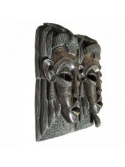 """Две настенные декоративные африканские маски """"Двое"""""""