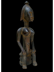 Африканская фигура женской ассоциации JO