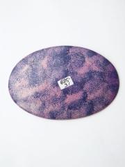 Африканская декоративная тарелка из натурального камня