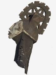 Маска Igbo (Нигерия) - шлем