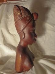 """Статуэтка африканской женщины """"Великий Аудитор"""""""