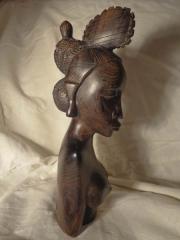 Раритетная статуэтка из Мали, привезена в СССР 50 лет назад