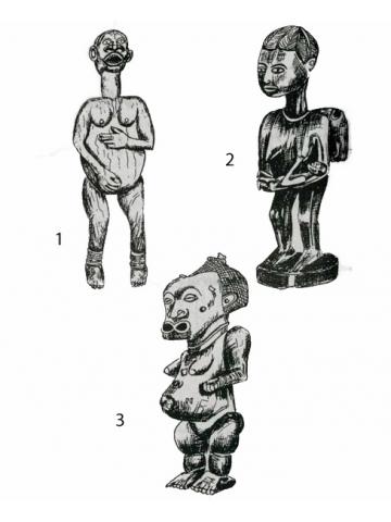 Колдовские фигуры у африканцев