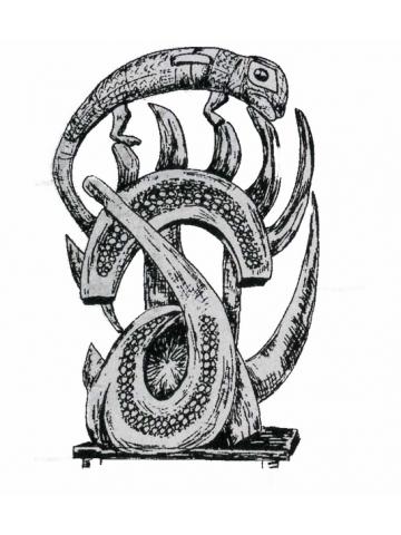 Символ хамелеона в Африке