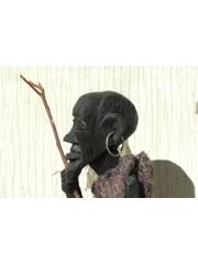 """Статуэтка проводника между мирами из Африки """"Проводник в серьгах"""""""