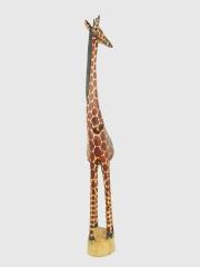 Деревянная фигурка африканского жирафа