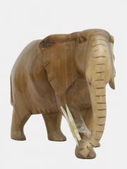 Купить статуэтку африканского слона из дерева