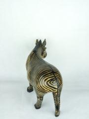Статуэтка африканской зебры из дерева