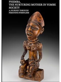 """Исследование """"Phemba The Nurturing Mother in Yombe Society"""""""