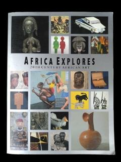 "Книга ""Africa Explores: Twentieth Century African Art"" [Susan Vogel]"