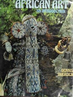 """Книга """"African Art an Introduction"""" - Dennis Duerden"""
