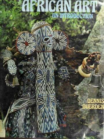 "Книга ""African Art an Introduction"" - Dennis Duerden"