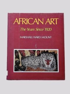 "Книга ""African Art - The Years Since 1920"" - Marshall Ward Mount"