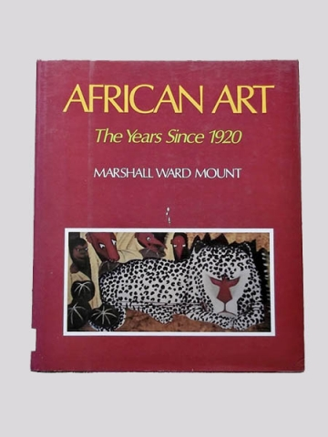 "Книга ""African Art - The Years Since 1920"" - Marshall Ward Mount"