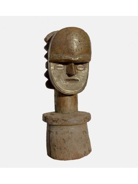 Африканская статуэтка навершие реликвария народности Bakota (Габон)