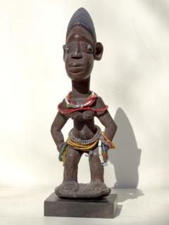 Статуэтка Ibeji Yoruba [Нигерия]