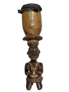 Статуэтка Baga Drum [Гвинея], 37 см