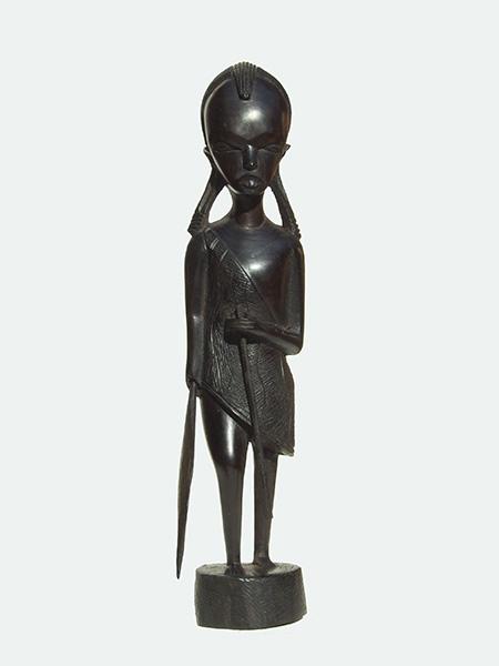 """Купить африканскую статуэтку их эбенового дерева """"Юность"""""""