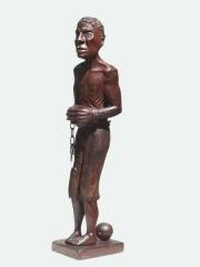"""Купить большую африканскую статуэтку из красного дерева """"Освобождение"""""""