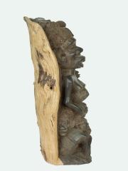"Скульптура ""Семейное дерево"" из эбенового дерева народности Makonde (Маконде)"
