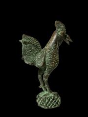Бенинская бронза - фигурка петуха