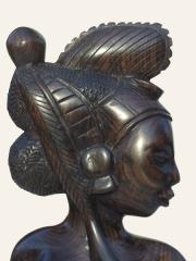 """Купить статуэтку """"Красотка"""" [Гвинея] из эбенового дерева"""