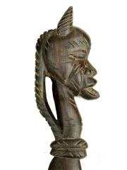 Африканский сувенирный нож из эбенового дерева