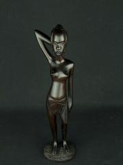 """Статуэтка африканской женщины из эбенового дерева """"Тимбукту"""""""