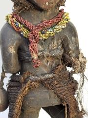 Ритуальная африканская статуэтка фетиш народности Vuvi