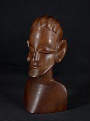 """Купить африканскую статуэтку из красного дерева """"Трикстер"""" с доставкой по России. Цена 2400 руб"""