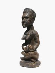 Ритуальная африканская фигура материнства народности Yombe, Конго