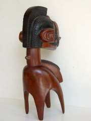 Культовая африканская маска Baga Nimba