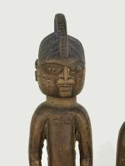 Пара близнецов кукол статуэтки Yoruba Ibeji из коллекции Коровикова В.И.