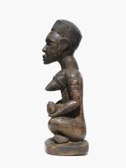 Ритуальная африканская фигура материнства народности Yombe Phemba, Конго
