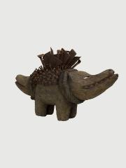Африканская статуэтка фетиш собака Nkisi
